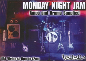 Valhalla Monday Jam Night